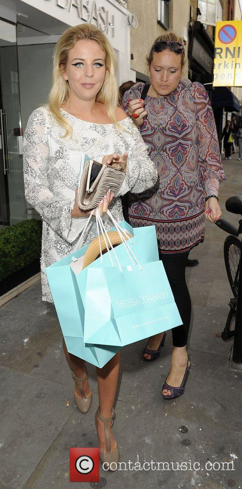 Lydia Rose-Bright attends the Melissa Odabash boutique launch...