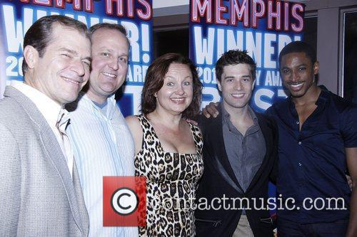 The Second Anniversary of the Broadway musical 'Memphis'...