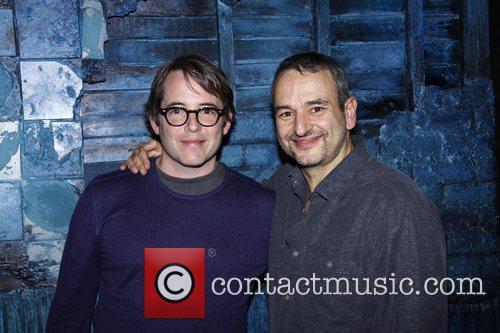 Matthew Broderick and Joe DiPietro Matthew Broderick visits...