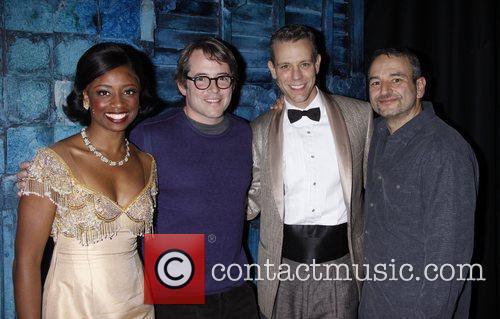 Montego Glover, Adam Pascal and Matthew Broderick 5