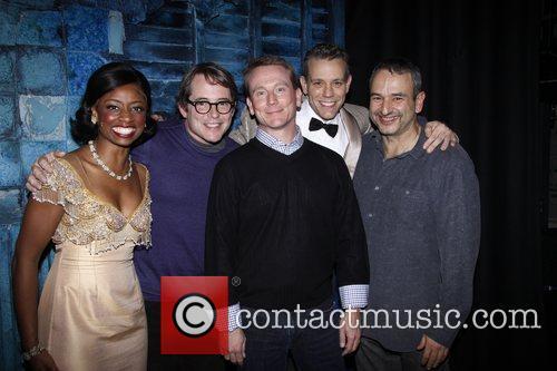 Montego Glover, Adam Pascal and Matthew Broderick 3