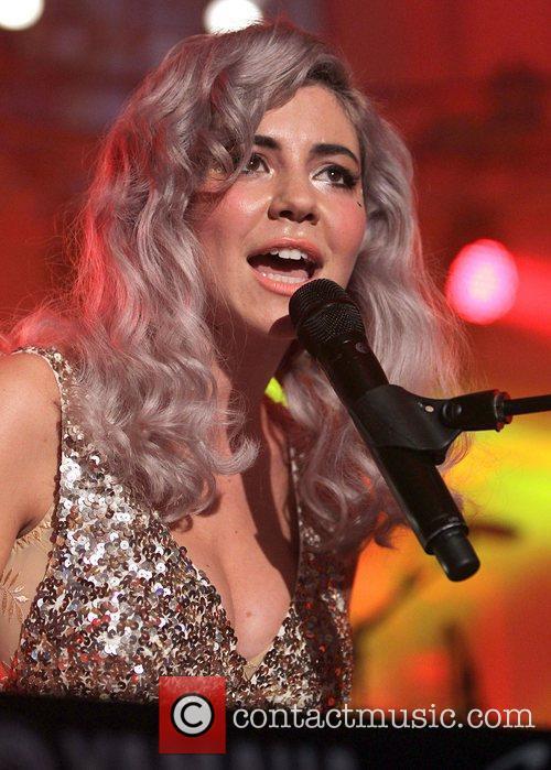 Marina Lambrini Diamandis of Marina and the Diamonds...