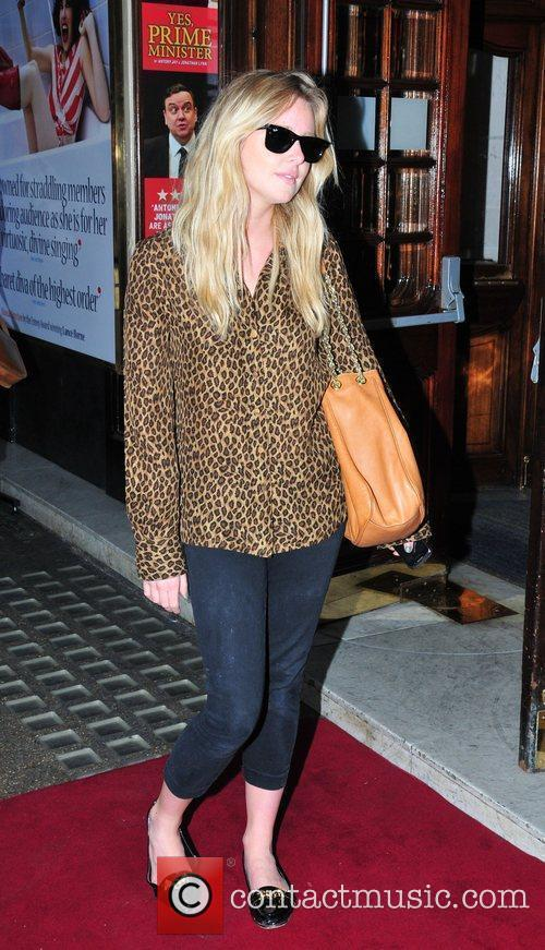 Diana Vickers,  arriving for the opening show...