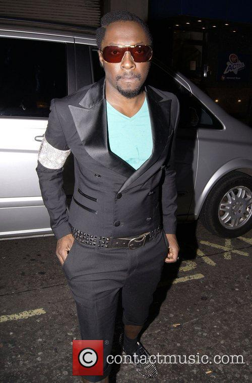 Will.i.am Celebrities party at Merah club London, England