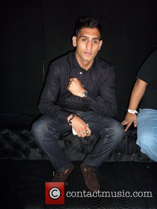 Inside the VIP at Merah club