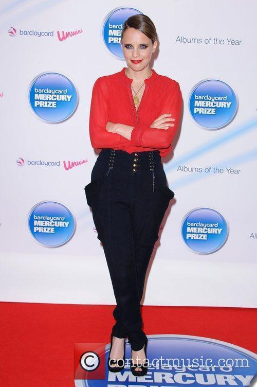 Anna Calvi Barclaycard Mercury Prize nominations announcement at...