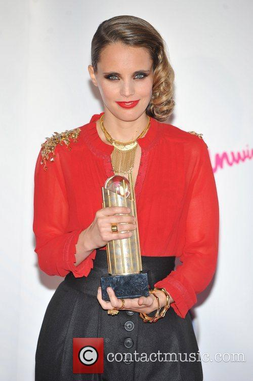 Anna Calvi 2011 Barclaycard Mercury Prize Awards held...