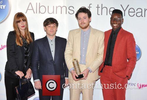 Metronomy 2011 Barclaycard Mercury Prize Awards held at...