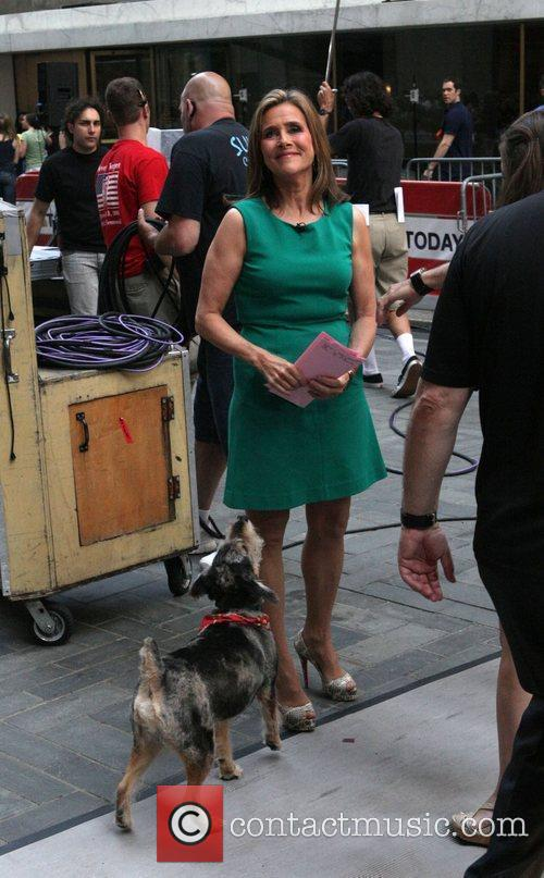 Meredith Vieira and her dog Jasper The 'Today...