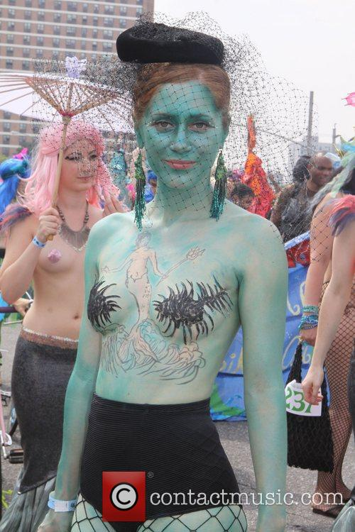 Atmosphere The 2011 Mermaid Parade in Coney Island...