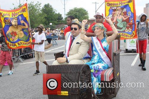 Queen Mermaid, Cat Greenleaf The 2011 Mermaid Parade...