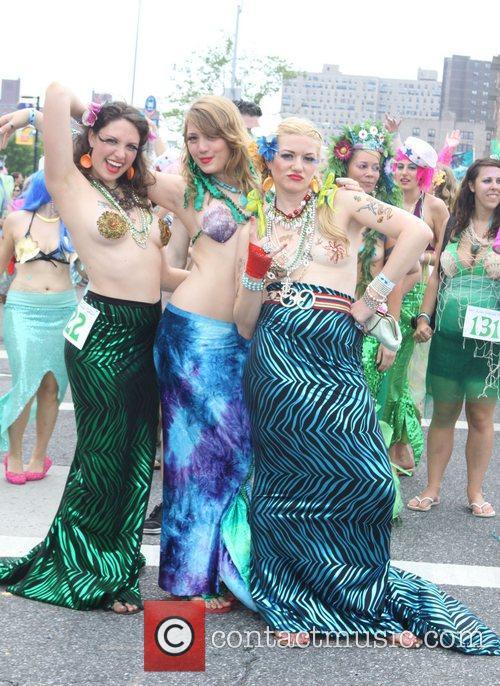 The 2011 Mermaid Parade in Coney Island