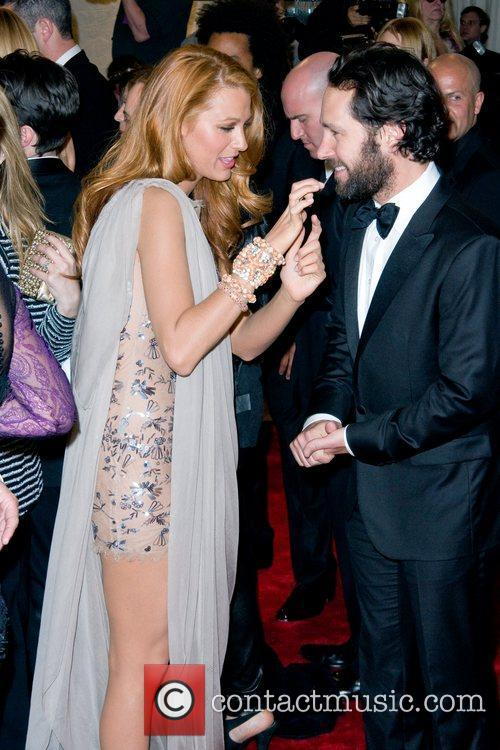 Blake Lively and Paul Rudd 7