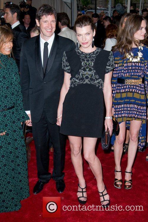 Paul W S Anderson and Milla Jovovich