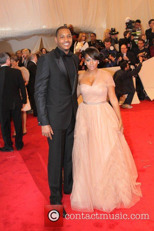 Carmelo Anthony and Lala Vasquez