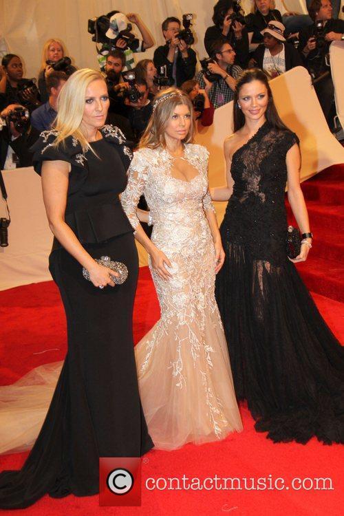 Fergie and Georgina Chapman 4