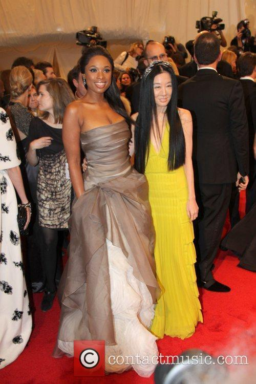 Jennifer Hudson and Vera Wang 3