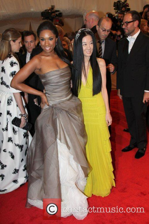 Jennifer Hudson and Vera Wang 7
