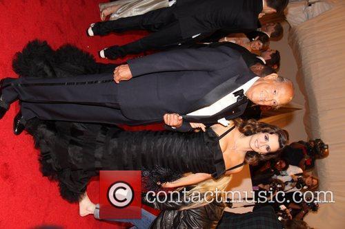 Oscar De La Renta and Penelope Cruz