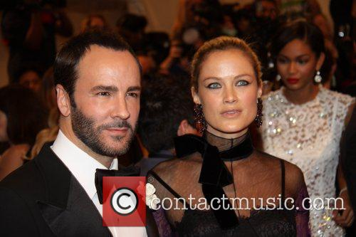 Tom Ford and Carolyn Murphy 1