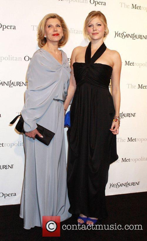 Christine Baranski and daughter Lily Cowles Metropolitan Opera...