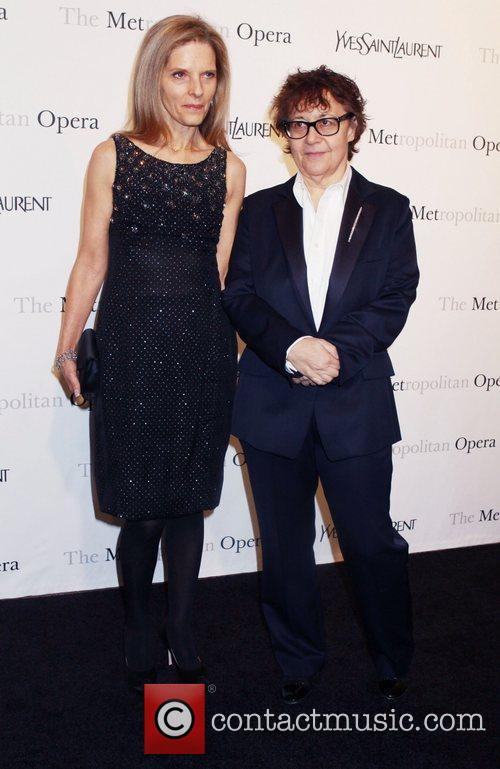 Ingrid Sishy and Sandy Brant Metropolitan Opera gala...