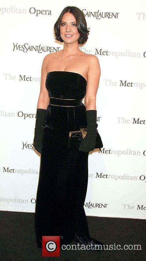 Oliva Munn Metropolitan Opera gala premiere of 'Rossini's...