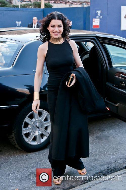 Julianna Margulies Metropolitan Opera gala premiere of 'Rossini's...
