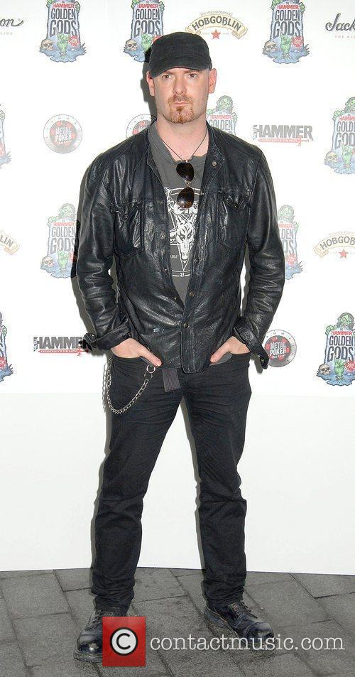 Alan Averill,  at the The Metal Hammer...