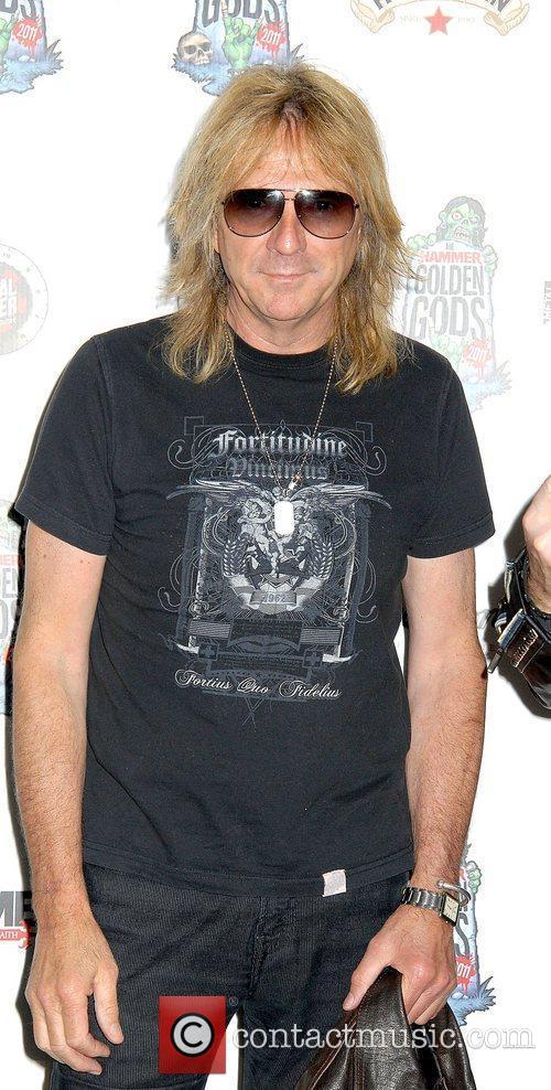 At the The Metal Hammer Golden Gods Awards...