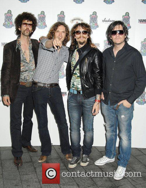 The Darkness,  at the The Metal Hammer...