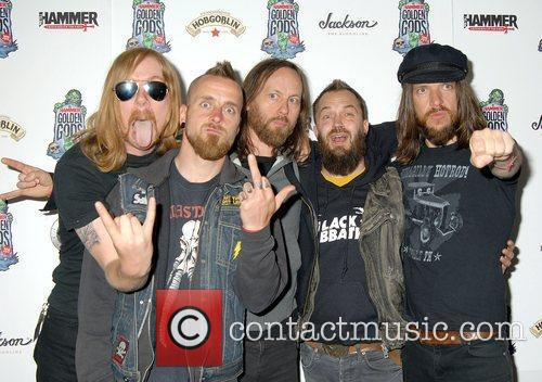 Black Spiders,  at the The Metal Hammer...