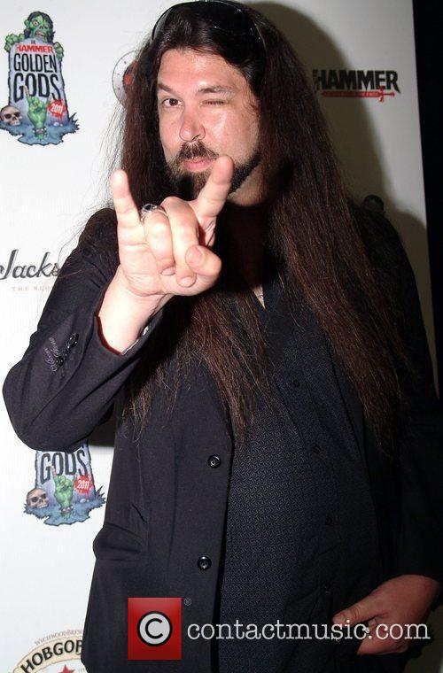 Alex Milas, editor of Metal Hammer,  at...