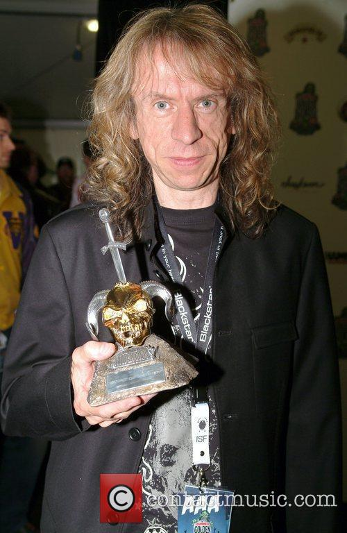 Brian Tatler of Diamond Head, winners of Spirit...