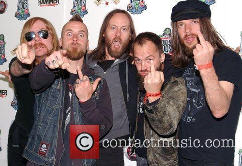 At the Metal Hammer Golden God Awards 2011...