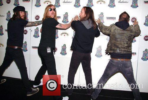 The Black Spiders,  at the Metal Hammer...