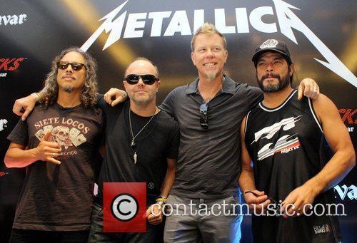 Kasabian Metallica Glastonbury