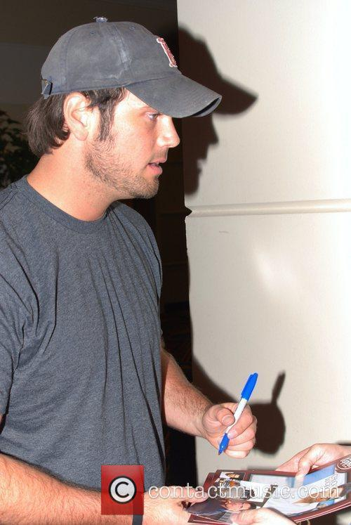 Chuck Wicks Celebrities at the MGM Grand Hotel...