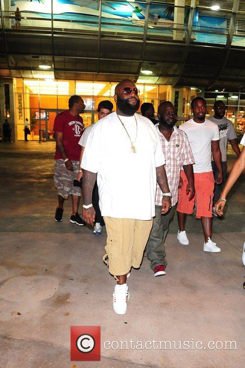 Rick Ross The Miami Dolphins vs The New...