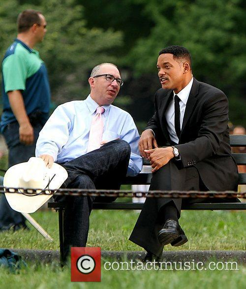 Barry Sonnenfeld and Will Smith 1