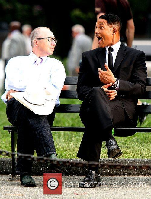 Barry Sonnenfeld and Will Smith 4