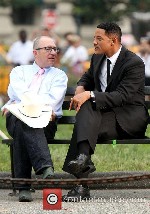 Barry Sonnenfeld and Will Smith 6
