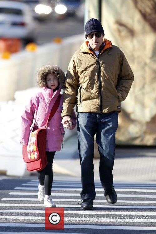 Michael Douglas walks his daughter, Carys Zeta Douglas,...