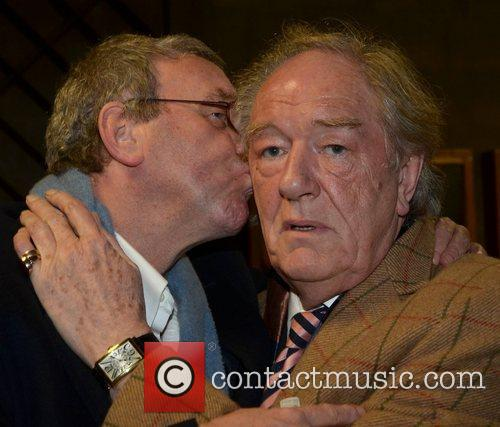 Michael Colgan and Michael Gambon