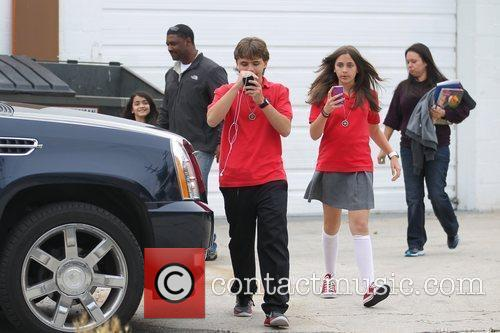 Prince Michael Jackson, Paris Jackson and Prince Michael...