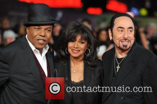 David Gest, Rebbie Jackson, Tito Jackson and Empire Leicester Square 6
