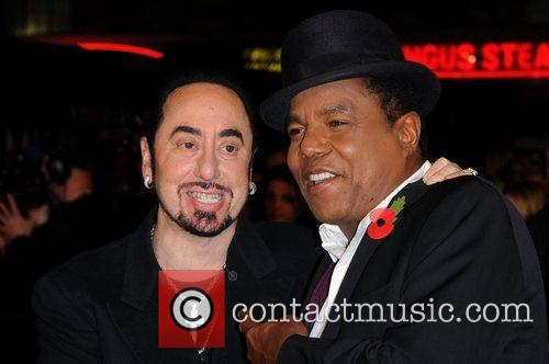 David Gest, Tito Jackson and Empire Leicester Square 1