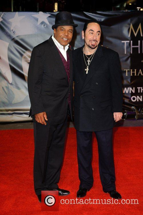 Tito Jackson, David Gest and Empire Leicester Square 5