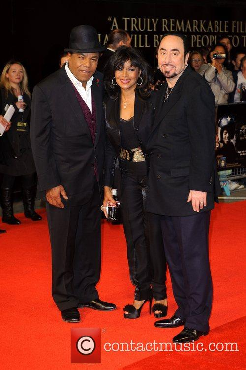 Tito Jackson, David Gest, Rebbie Jackson and Empire Leicester Square 4
