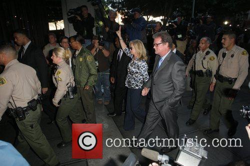 Kathy Hilton and Rick Hilton Arrivals at Los...